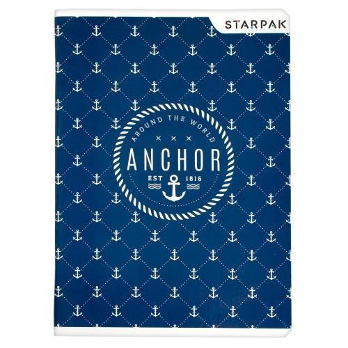 Zeszyt A5 60 kartek w kratkę Marine STARPAK 406029