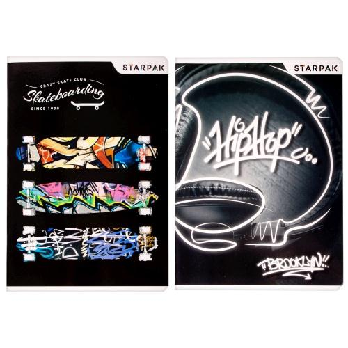 Zeszyt A5 60 kartek w linię Skate STARPAK 406026