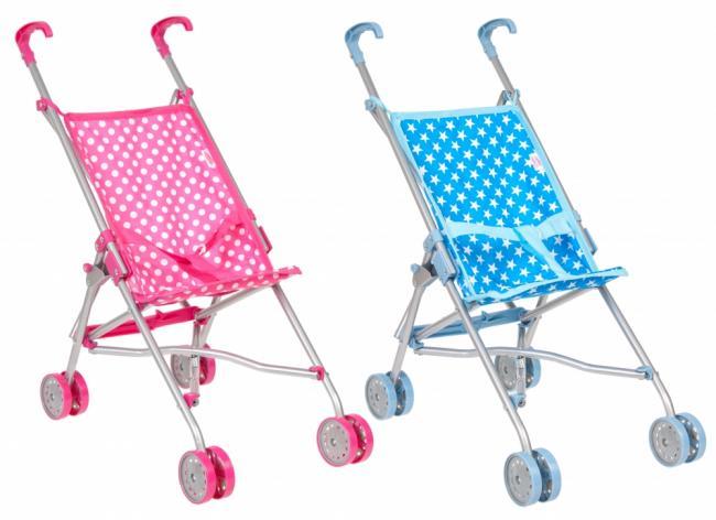 Wózek dla lalek parasolka Nella MEGA CREATIVE 391645