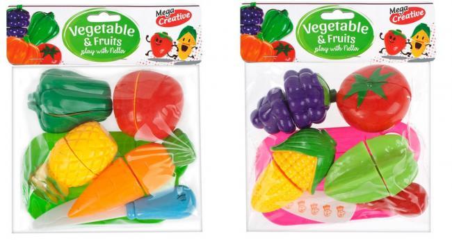 Owoce i Warzywa do krojenia MEGA CREATIVE 426540