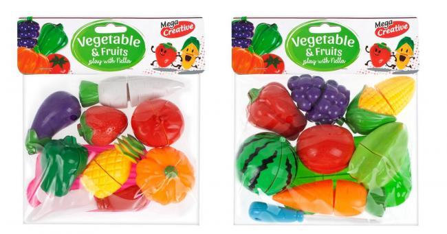Owoce i Warzywa do krojenia MEGA CREATIVE 426541
