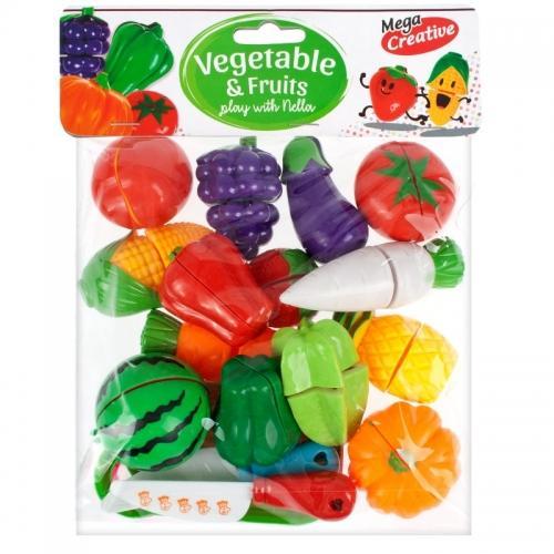 Owoce i Warzywa do krojenia MEGA CREATIVE 426542