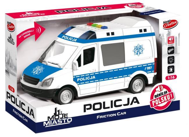 Auto Policja Moje Miasto MEGA CREATIVE 382256