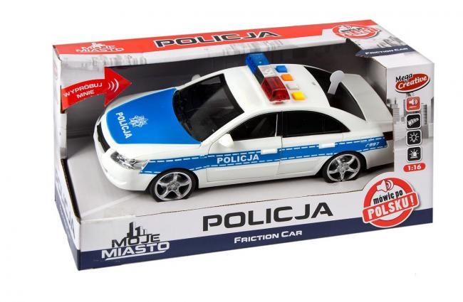 Auto Policja Moje Miasto MEGA CREATIVE 382257