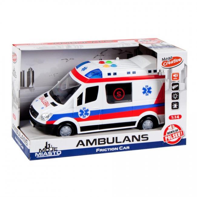Ambulans Moje Miasto MEGA CREATIVE 432683