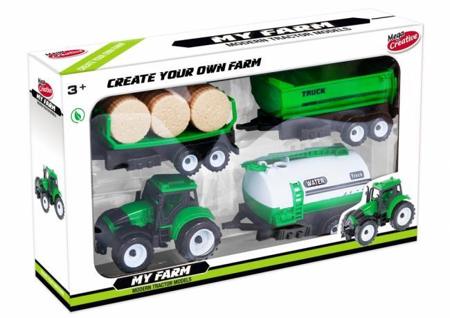 Traktor plus akcesoria z serii Moje ranczo Mega Creative 462666