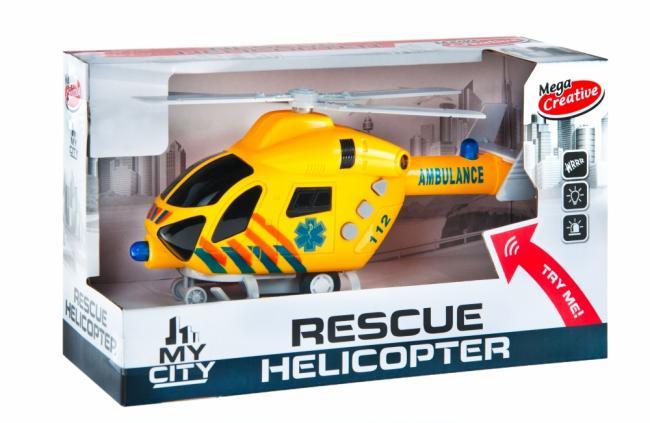 Helikopter Moje Miasto MEGA CREATIVE 462667