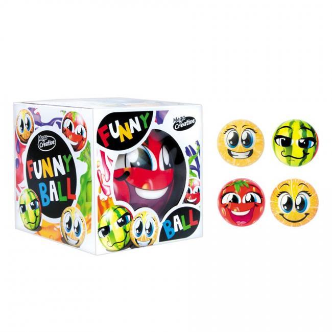 Piłka Magic Funny Ball Owoce MEGA CREATIVE 445653