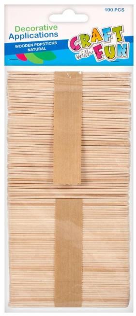 Patyczki drewniane dekoracyjne CRAFT WITH FUN 291067