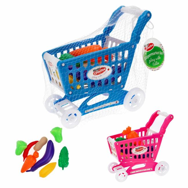 Supermarket Nella koszyk z akcesoriami MEGA CREATIVE 459473
