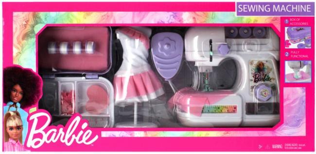 Maszyna do szycia z akcesoriami Barbie Role Play MEGA CREATIVE 479213